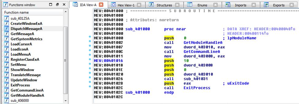 IDA Pro Tutorial: Unpacking Obfuscated Binary Using IDA Pro